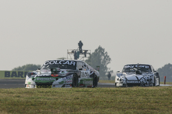 Gaston Mazzacane, Coiro Dole Racing Chevrolet and Laureano Campanera, Donto Racing Chevrolet