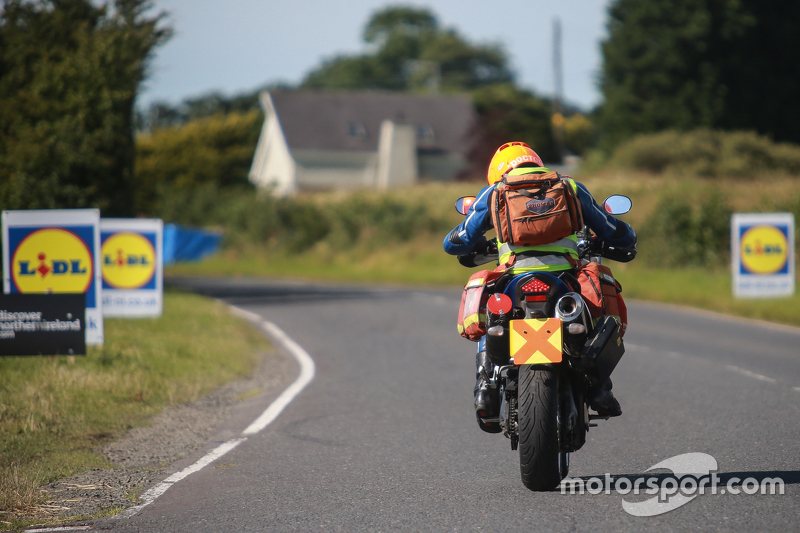 Motorcycling track doctor