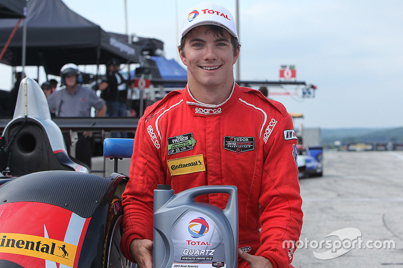LMPC polesitter #38 Performance Tech Motorsports Oreca FLM09: James French