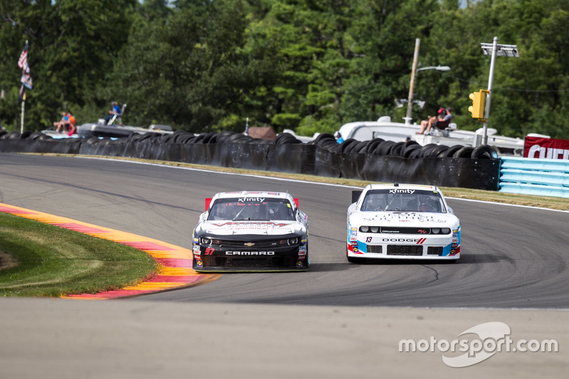 Peyton Sellers, Obaika Racing Chevrolet, dan Todd Bodine, King Autosports Chevrolet