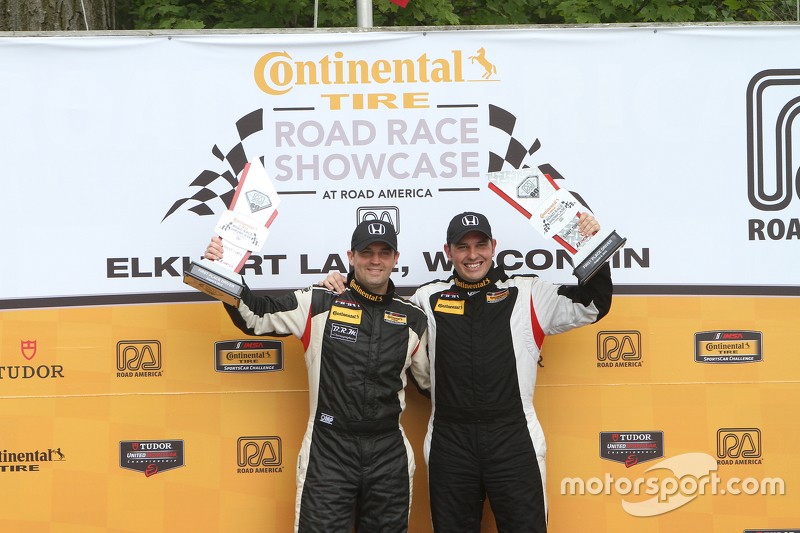 Podium kelas: juara Chad Gilsinger, Ryan Eversley