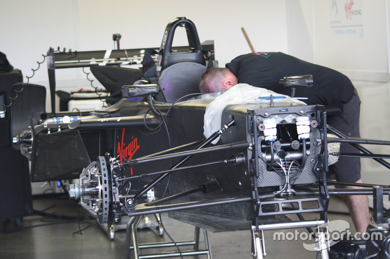 DS Virgin Racing, Detail