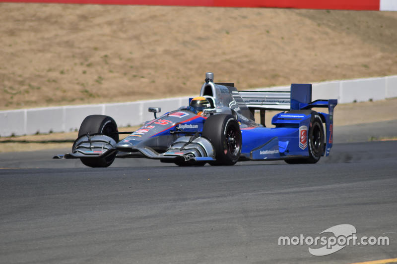 Метт Бребем тестує для Andretti at Sonoma