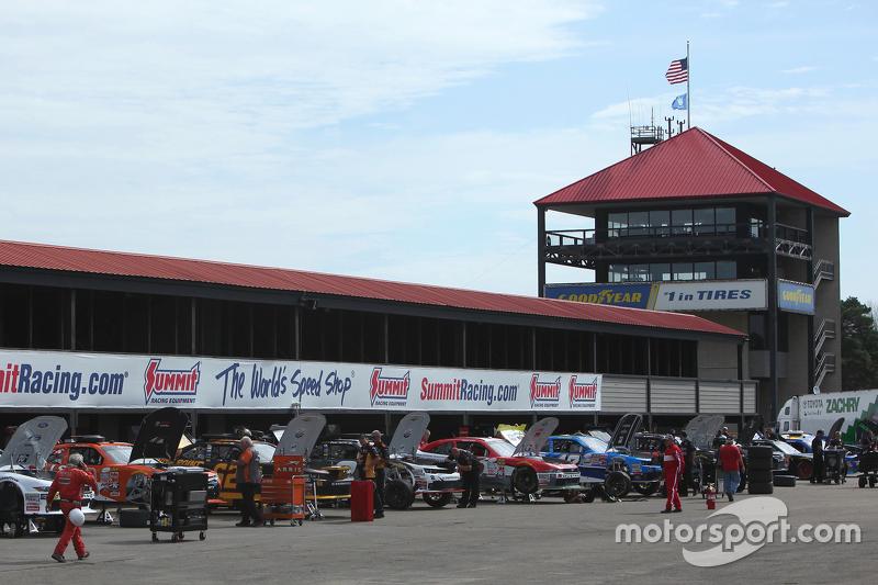 Mid-Ohio garaj alanı