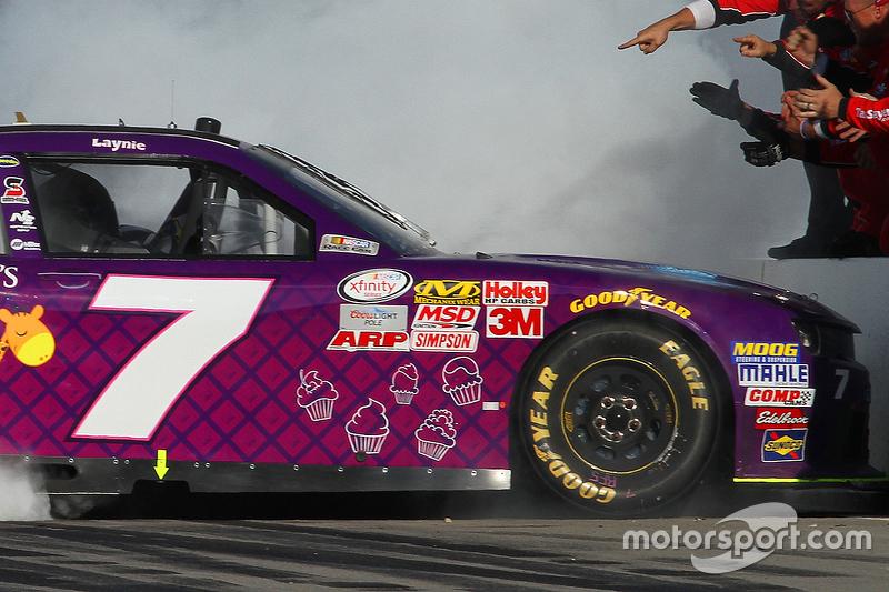 Race winner Regan Smith, JR Motorsports Chevrolet