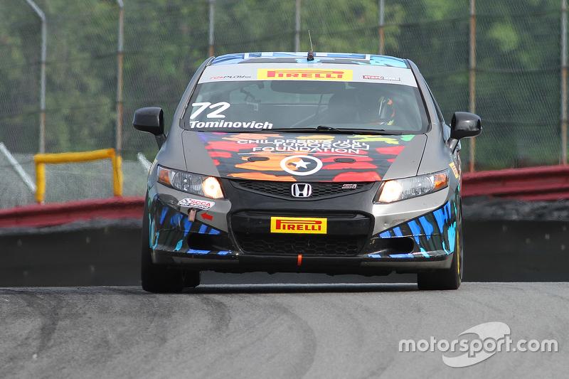 #72 Compass360 Racing Honda Civic Si: Emilee Tominovich