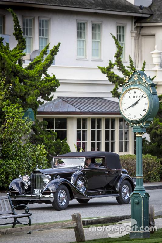 Packard 1107 twelve convertible Victoria 1934