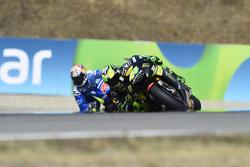 Pol Espargaro, Monster Yamaha Tech 3 and Maverick Viñales, Team Suzuki MotoGP