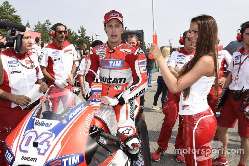 Gridgirl of Andrea Dovizioso, Ducati Team