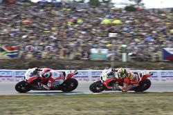 Andrea Dovizioso en Andrea Iannone, Ducati Team