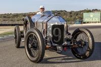 Spirit of Monterey juara balapan Dick Deluna 9, 1917 Hall-Scott The Four-A-7A