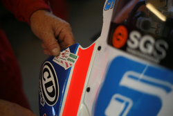 Scrutineering sticker