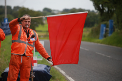 Red Flag for Andy Lawson's accident