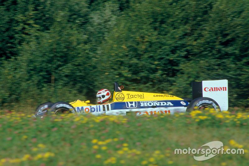 10. Австрія-1987, Остеррайхринг - Нельсон Піке, Williams-Honda FW11B: 256,622 км/год