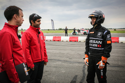 Karun Chandhok with Indian participant