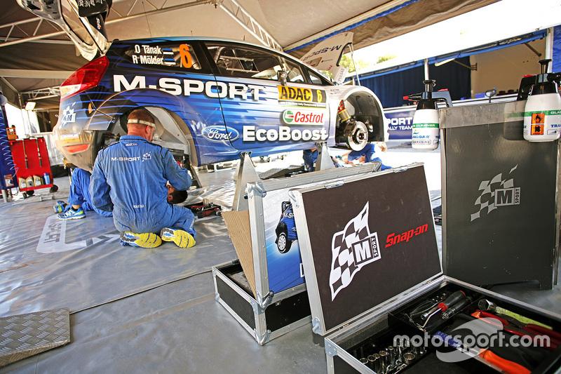M-Sport територія команди