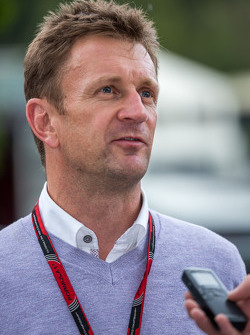 Allan McNish, BBC F1 Presenter