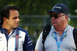(L to R): Феліпе Масса, Williams зі своїм батьком Luis Antonio Massa