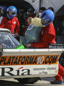 First time refueling in TC Santiago Mangoni, Laboritto Jrs Torino