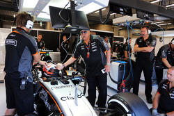 Dr. Vijay Mallya, Sahara Force India F1 con Nico Hulkenberg, Sahara Force India F1 VJM08