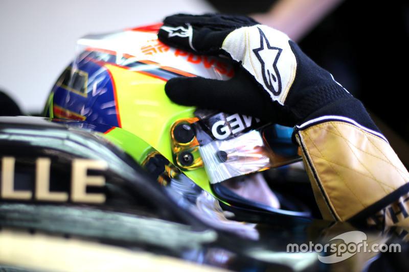 Пастор Мальдонадо, Lotus F1 Teamf