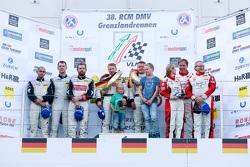 Podium: 1. Klaus Graf, Christian Hohenadel, Rowe Racing; 2. Adam Christodoulou, Andreas Simonsen, Hubert Haupt, Black Falcon; 3. Klaus Abbelen, Patrick Huisman, Sabine Schmitz, Frikadelli Racing