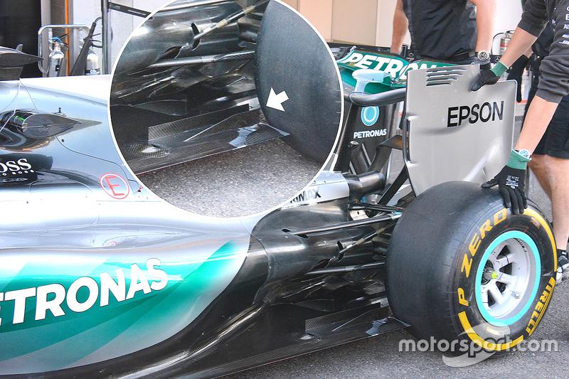 Nico Rosberg's Mercedes