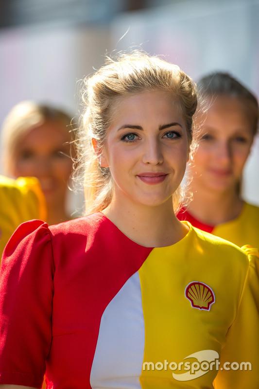 Chica de la parrilla GP de Bélgica
