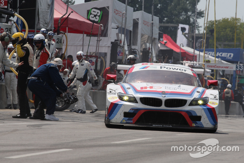 #24 BMW Team RLL BMW Z4 GTE: John Edwards, Lucas Luhr