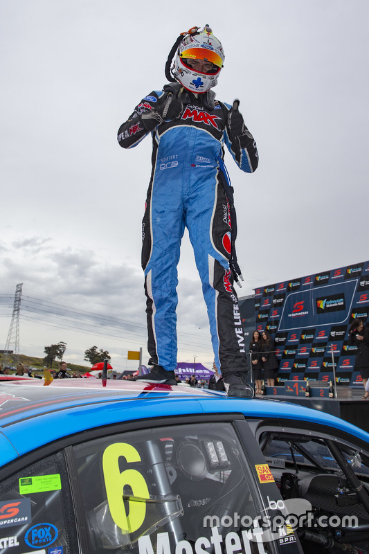 Race winner Chaz Mostert, Prodrive Racing Australia Ford