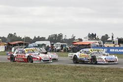 Мартін Серрано, Coiro Dole Racing Dodge та Хуан Мануель Сільва, Catalan Magni Motorsport Ford та Емануель Моріатіс, Alifraco Sport Ford
