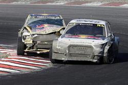 Mattias Ekström, EKS RX Audi S1 and Timur Timerzyanov, Olsbergs MSE Ford Fiesta ST
