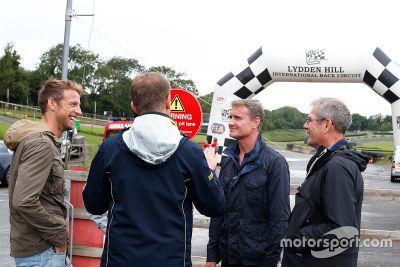 Coulthard et Button s'essaient au RX