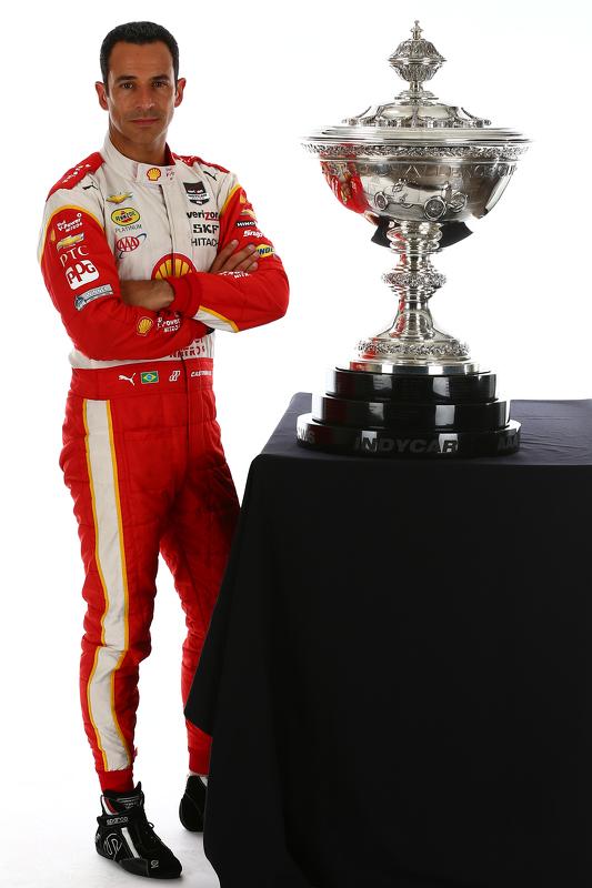 Titelkandidaat Helio Castroneves, Team Penske Chevrolet