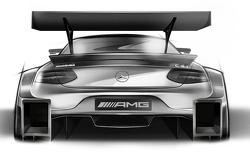 Diseño del Mercedes-Benz DTM para 2016.