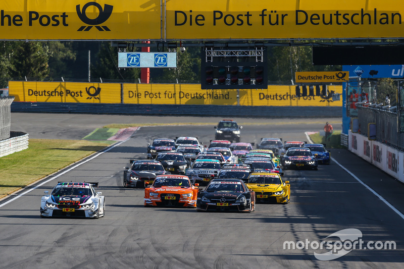 Start: Marco Wittmann, BMW Team RMG BMW M4 DTM leads