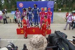 Церемония награждения победителей Rally Beijing Huairou