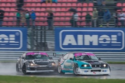 Евгений Ружейников, Nissan, и Андрей Богданов, BMW
