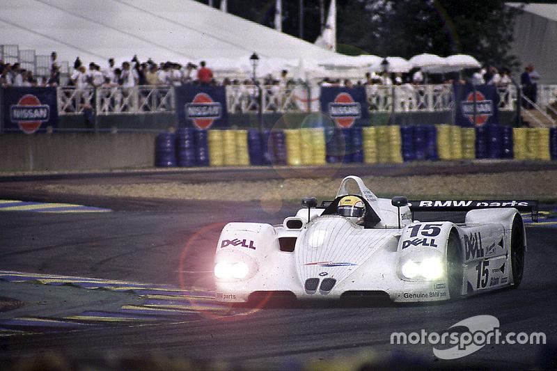#15 BMW Motorsport BMW V12 LMR: Joachim Winkelhock, Pierluigi Martin, Yannick Dalmas