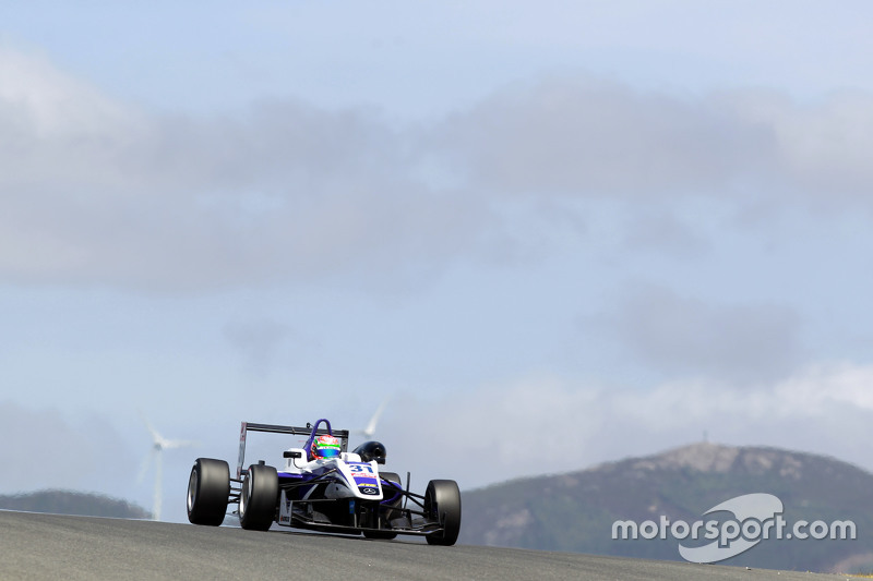 Martin Cao, Fortec Motorsports, Dallara F312 Mercedes-Benz