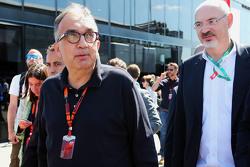 Sergio Marchionne, presidente de Ferrari y CEO de Fiat Chrysler Automobiles