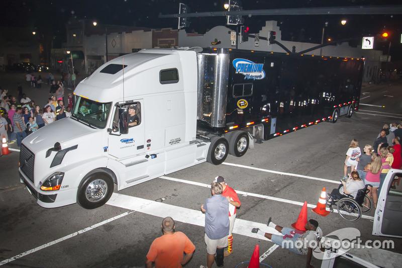 Premium Motorsports hauler