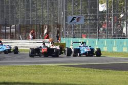 Luca Ghiotto, Trident avanti a  Matheo Tuscher, Jenzer Motorsport e Alex Palou, Campos Racing