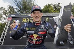 Race winner Timmy Hansen, Team Peugeot-Hansen