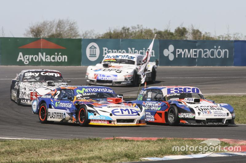 Крістіан Ледесма, Jet Racing Chevrolet та Хосе Савіно, Savino Sport Ford та Лаурено Кампанера, Donto Racing Chevrolet та Леонел Сотро, Alifraco Sport Ford