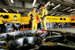 Rob Huff, Lada Vesta WTCC, Lada Sport Rosneft en Nicky Catsburg, Lada Vesta WTCC, Lada Sport Rosneft