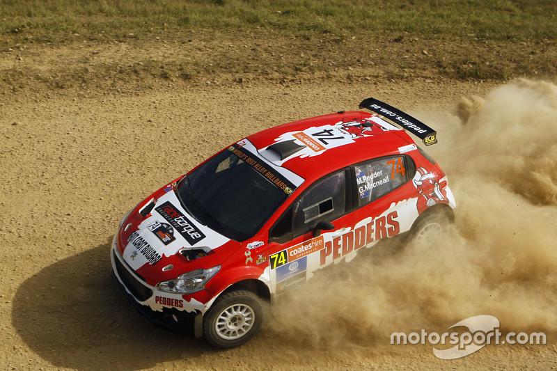 Mark Pedder and Glenn Macneall, Peugeot 208 Maxi