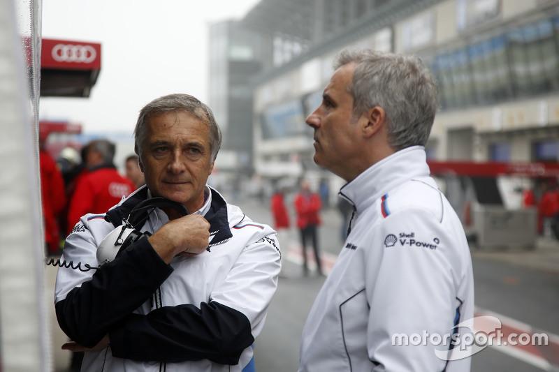 Charly Lamm, team manager BMW Team Schnitzer and Jens Marquardt, BMW Motorsport Director