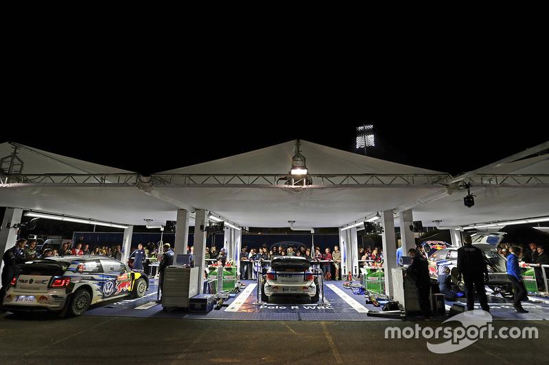 Volkswagen Motorsport, Teambereich