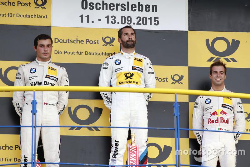 Podium: 2nd Bruno Spengler, BMW Team MTEK BMW M4 DTM, 1st Timo Glock, BMW Team MTEK BMW M3 DTM, 3rd